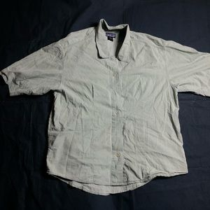 Patagonia women's camp short sleeve shirt small